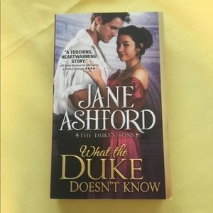 What the Duke Doesn't Know Book